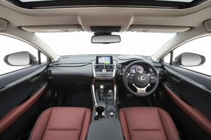 The 2014 Lexus NX 300h Sports Luxury.