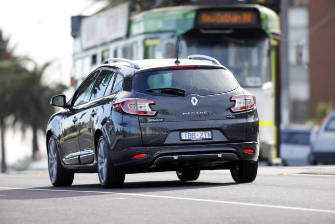 The Renault Megane GT-Line Wagon.