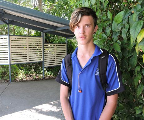 Year 11 Yeppoon State High School student Blade Pisani recently returned from trekking the Kokoda trail as part of a youth at risk program through Horizons Early Intervention program and youth boot camp.