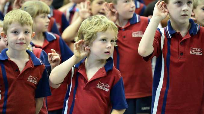 St Stephen's Lutheran College students were part of the 500,000 students across Australia who took part in Music: Count Me In.