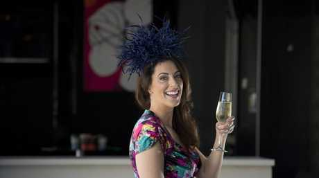 Events organiser of the Melbourne Cup official afterparty at the Olive Branch Samantha Heathwood looks forward to a fun day.