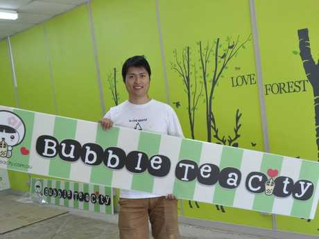 Derrick Chen is opening Toowoomba's first Bubble Tea speciality store.