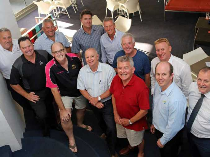 FEELING FUZZY: Simmo's Dirty Dozen are ready to raise funds by going without a razor (from left) Des Taylor, Paul Ninness, Brian Betts, Wayen Glenn, Dominic Hillar, Rick Haines, Paul Sullivan, Eddie Cox, Graeme Spink, Ken Phillips, Matt O'Donnell and Neil Cole.