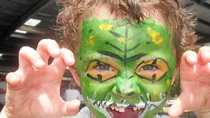 SCARY: Face painting is a must to do and see at this year's Teven Tintenbar Public School Country Fair.