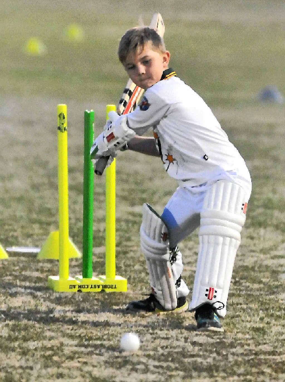 BIG HIT: Jack Shepherd playing in the T20 Junior Blast.