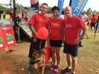 Dean Morcombe with Premier Campbell Newman and wife Lisa at the 2014 Walk for Daniel on the Sunshine Coast