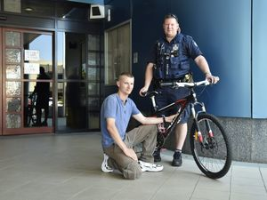 Stolen bike returned