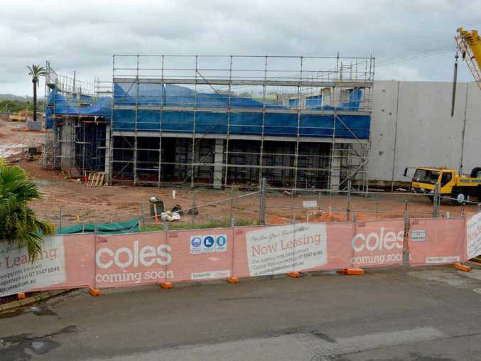 $2.9 million on the Nambour Coles project.