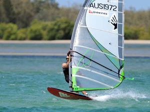 Golden setting for Queensland Freerace Series wind event