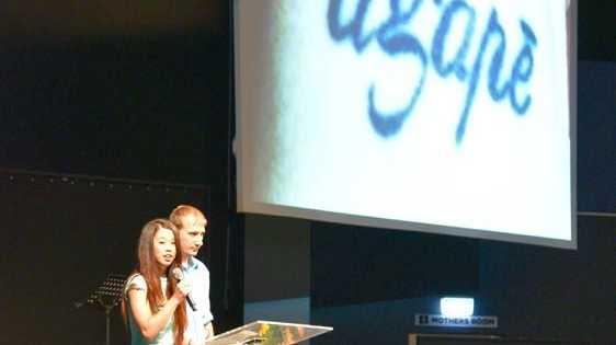 Kari-Lee Birrell's adopted sister Tiana tells of Kari's first tattoo, agape, describing the love that Jesus showed.