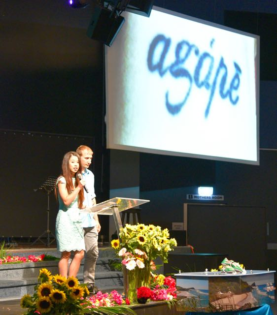 Kari-Lee Birrell's adopted sister Tiana tells of Kari's first tattoo, agape, describing the love that Jesus showed.