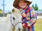 Miniature ponies display talents at show