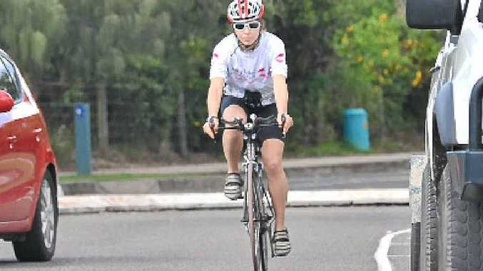 SAFETY FIRST: Motorists have been urged to take care when sharing the road with cyclists.