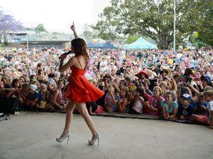Caitlyn Shadbolt rocks 3000 strong home crowd
