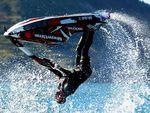 Jetski stunt ends in disaster for NZ daredevil