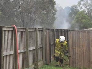 Fire near Tiffany Crt, Caboolture