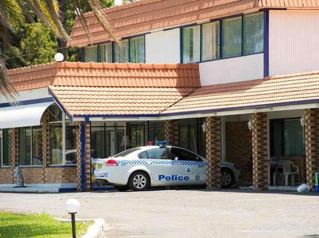 crime scene arosa motel Photo: Trevor Veale / The Coffs Coast Advocate