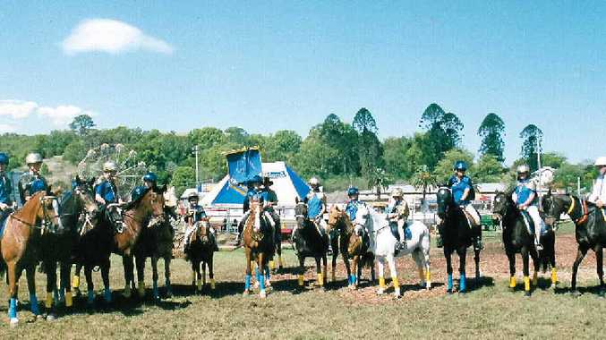 PONY PARADE: Members of the Channon-Dunoon Pony Club on show at the Lismore Showgrounds.