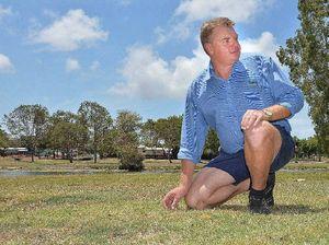 Used syringe found on Mackay footpath worries father