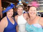RACE DAY: Josie Roberts-Smith, Barb O'Connor and Jenny Hinds at the Melbourne Cup Race Day held at Thabeban Park on Tuesday, 4 November 2014.