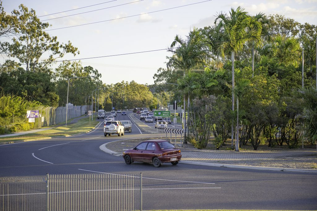 Kin Kora is the worst intersection in Gladstone according to a community poll.