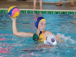 Fast Fives water polo action for Byron