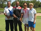 The victors in the Central Queensland four-ball best-ball stableford championships are Gladstone's John Ngatai and Edwin Jones, and Yeppoon's Young-Jin Hendrie and Kristin Davidson.