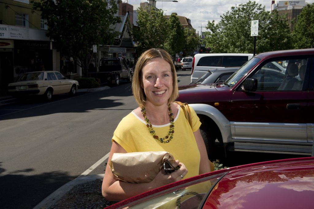 Toowoomba CBD shopper Anna Bein can see both sides of changes to short-term parking in town.