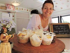 Caravan cafe works a treat at Capricorn Coast sites