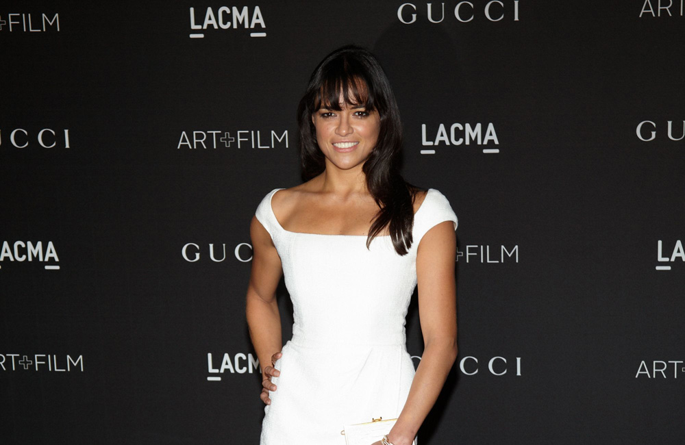 Michelle Rodriguez at the LACMA Art and Film Gala