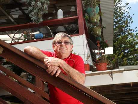 FRANK TALK: Goodna flood victim Frank Beaumont lost everything in the 2011 floods and wants the government to settle a class action case out of court before trial.