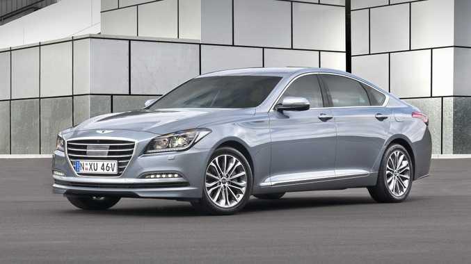 Hyundai Genesis Road Test Review   Badge Grows Wings