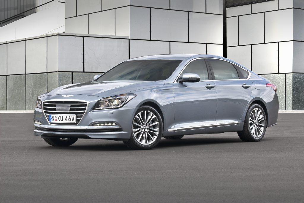 The Hyundai Genesis.