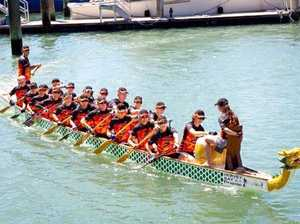 Go and try dragon boat paddling on Saturday