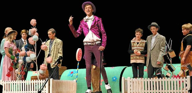 THE CANDYMAN: The Puddlejumper Youth Theatre perform Charlie and the Chocolate Factory at the Laidley Cultural Centre