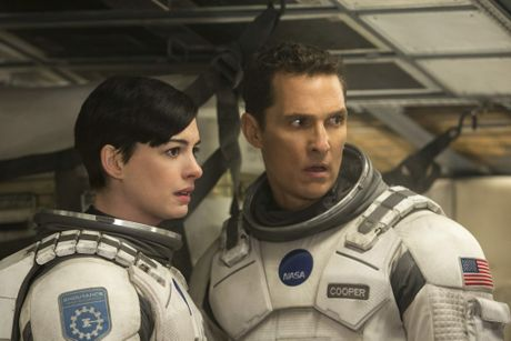 Matthew McConaughey and Anne Hathaway play astronauts in search of a hospitable planet in Interstellar.