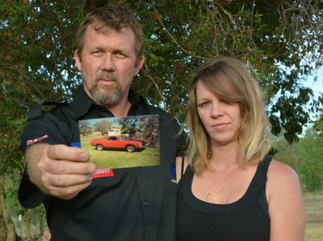 Shane and Rachael Murray want their car that was stolen 21 years ago back.