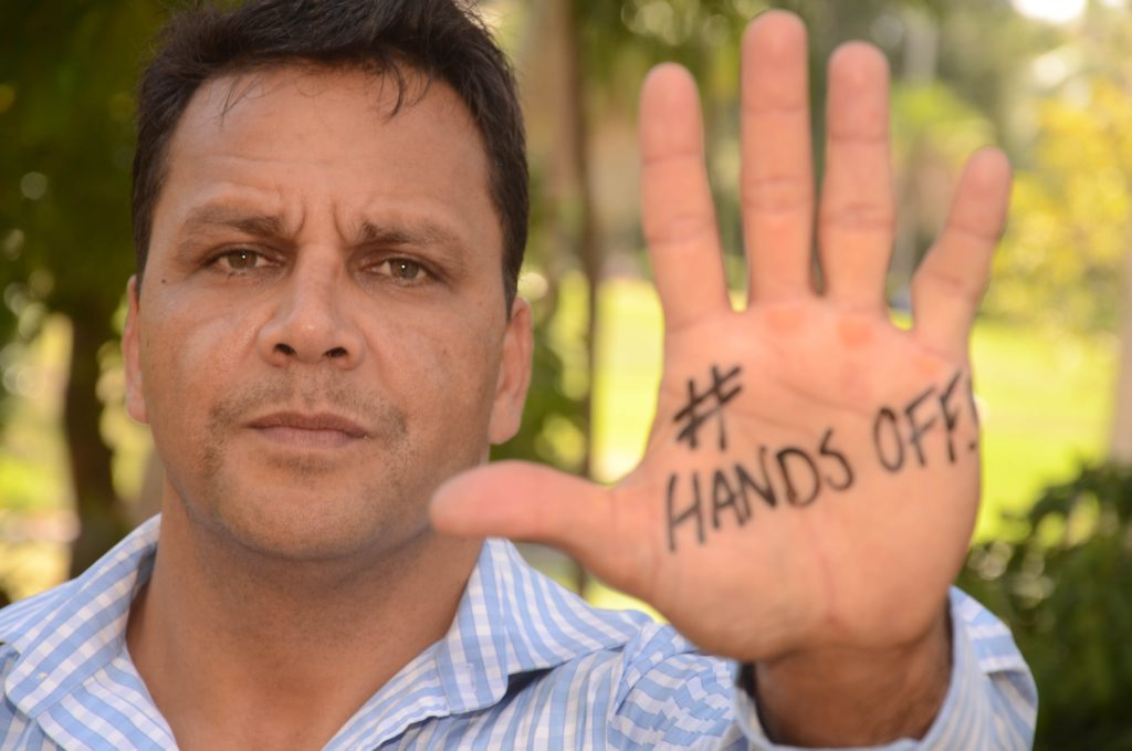 Former rugby league international star Steve Renouf is the ambassador for APN's #HandsOff campaign to tackle violence on our streets.