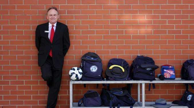 Dr. Dirk Wellham, Principal of Caloundra City School and former Australian Test Cricketer. Photo: Cade Mooney / Sunshine Coast Daily