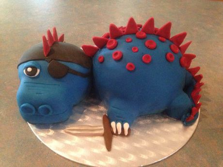 Suzanne McKenzie made this cake for a close friend's grandson.