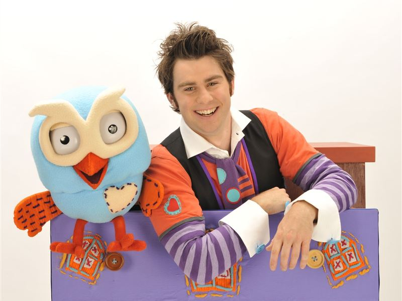 Jimmy Giggle from Giggle and Hoot will host this year's Teddy Bears' Picnic