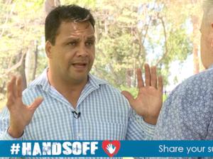 HandsOff ambassador Steve Renouf