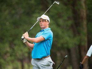Junior golfer Jack Pountney runner-up at World championships