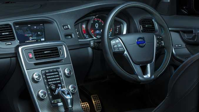 Inside the Volvo S60 and V60.