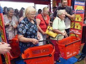 WATCH: Shoppers cheer as Spotlight opens in Hervey Bay