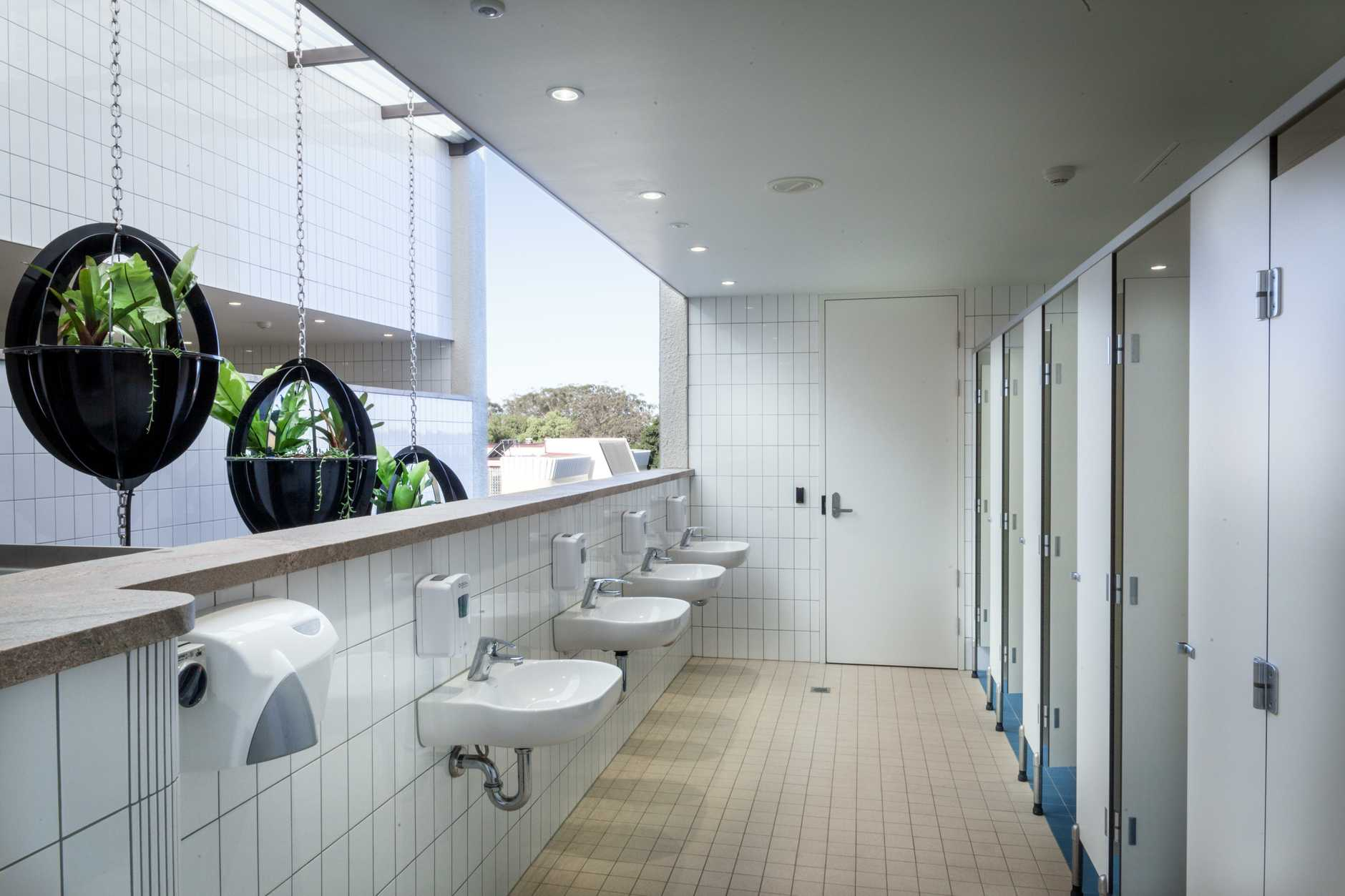 Nudgee college boarding house bathroom