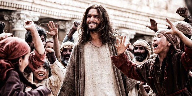 Actor Diogo Morgado as Jesus in the 2013 film Son of God. Photo / Supplied