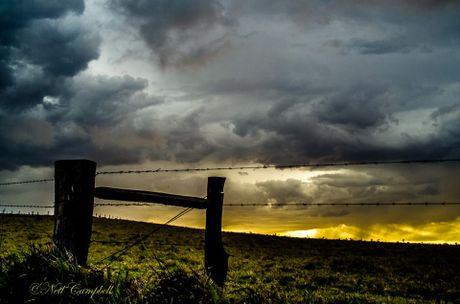 Storm brewing, November 6.