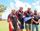 QUIRKY CLUB: (From left) Pennants winning team Lindsay Francis, Rodney Allen, Gary Carter, Rob Horton.