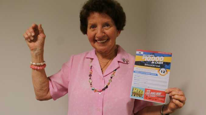 Judy Finlay has had a lucky week, including winning $1000 from The Observer's Melbourne Cup sweep.
